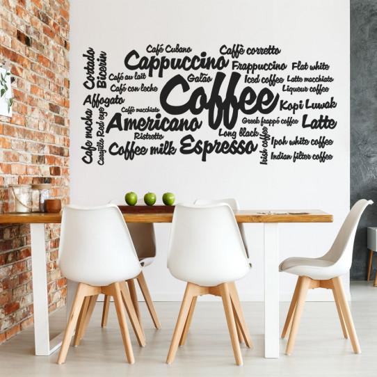 Stickers mots cuisine