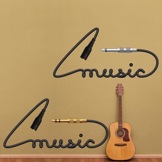 Autocollant Stickers mural ado music