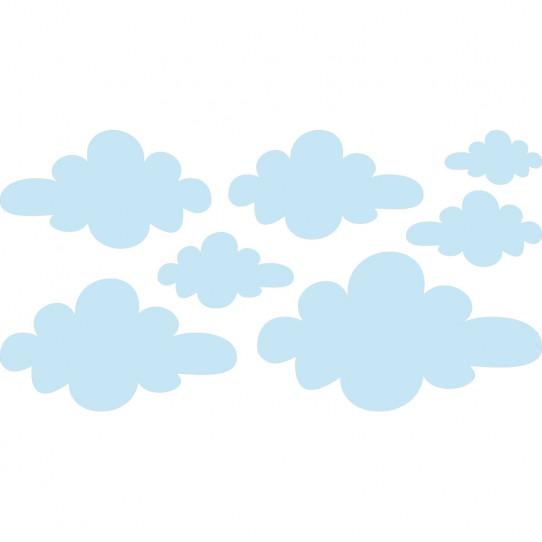 Stickers nuages - Des prix 50% moins cher qu\'en magasin