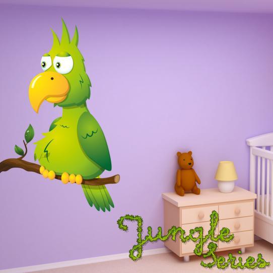 Autocollant Stickers muraux enfant oiseau