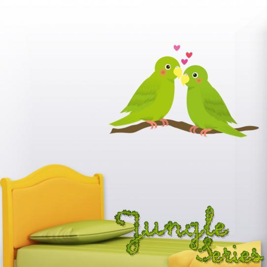 Autocollant Stickers mural enfant oiseau