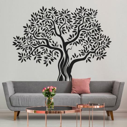 Stickers olivier arbre