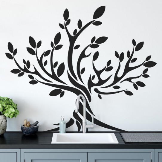stickers olivier arbre des prix 50 moins cher qu 39 en magasin. Black Bedroom Furniture Sets. Home Design Ideas