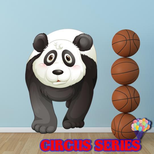 Autocollant Stickers mural enfant panda