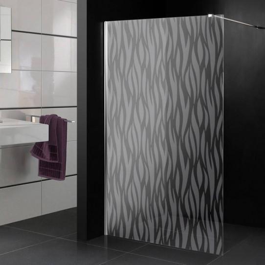 stickers paroi de douche d poli design 10 des prix 50 moins cher qu 39 en magasin. Black Bedroom Furniture Sets. Home Design Ideas
