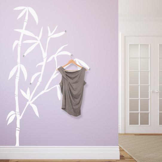 stickers porte manteau bambou des prix 50 moins cher qu 39 en magasin. Black Bedroom Furniture Sets. Home Design Ideas