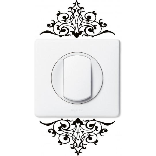 stickers pour prise et interrupteur des prix 50 moins. Black Bedroom Furniture Sets. Home Design Ideas