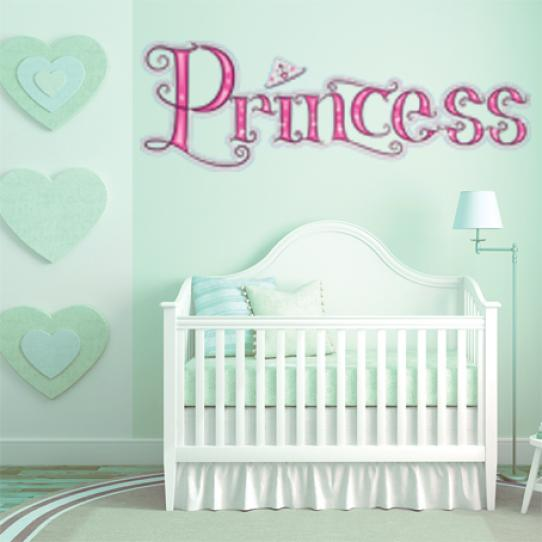 Autocollant Stickers muraux enfant princesse