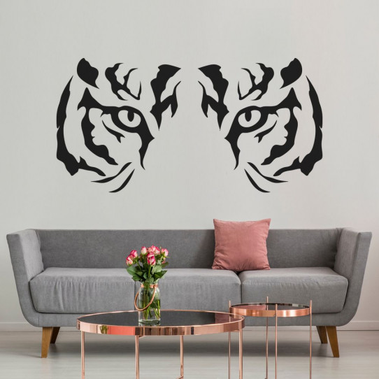 Stickers regard tigre