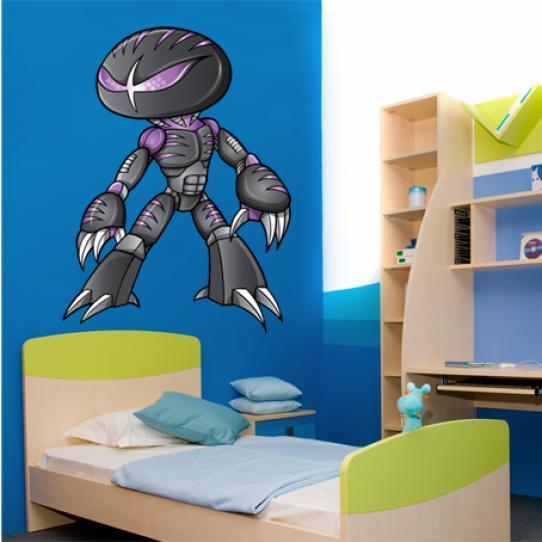Stickers robot alien