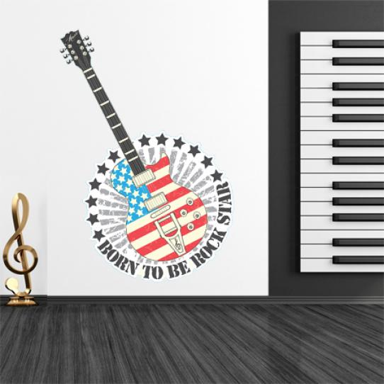 Stickers rock star
