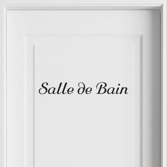 Stickers Salle de Bain - Des prix 50% moins cher qu\'en magasin