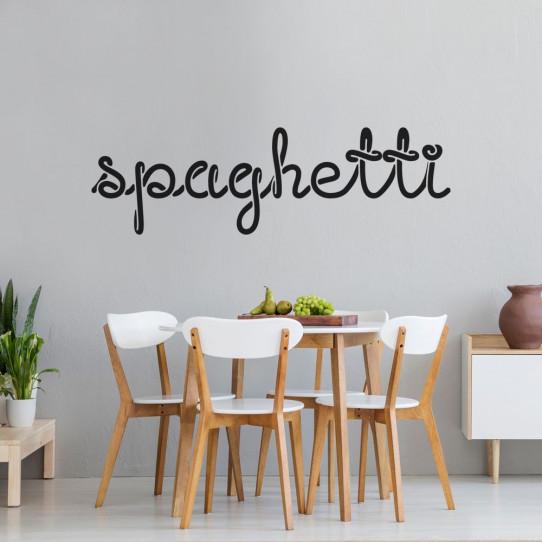 Stickers spaghetti