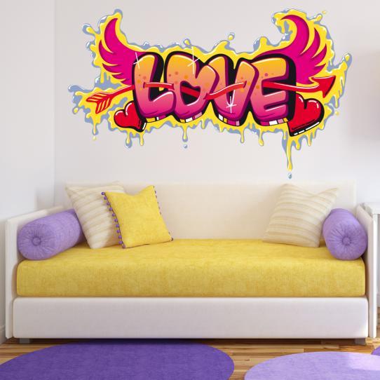 Autocollant Stickers mural ado love