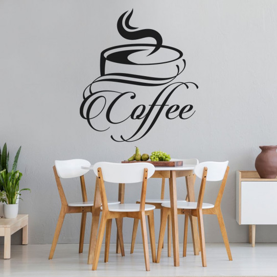 Stickers tasse coffee