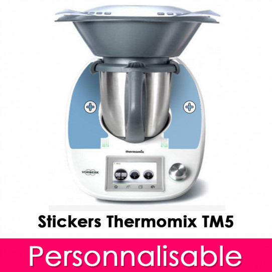 stickers thermomix tm 5 personnalisable des prix 50 moins cher qu 39 en magasin. Black Bedroom Furniture Sets. Home Design Ideas