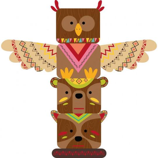 Stickers totem indien - Des prix 50% moins cher qu en magasin ae118679de5