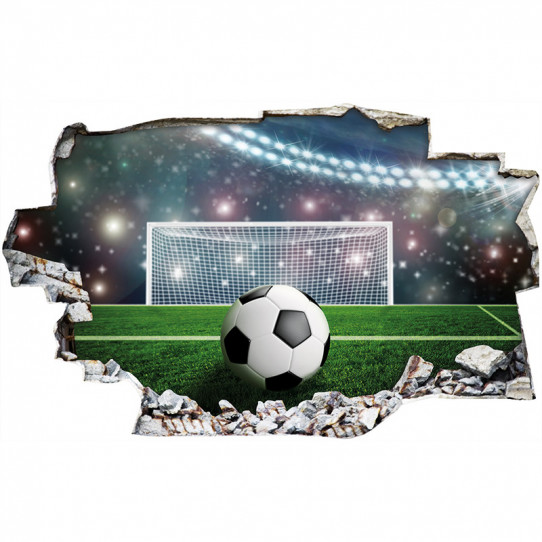Stickers Football 50 Sur Les Prix Magasin Stickers Muraux Fr