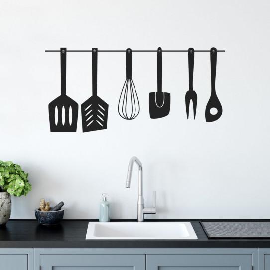 Stickers ustensiles de cuisine des prix 50 moins cher qu 39 en magasin - Ustensiles de cuisine discount ...
