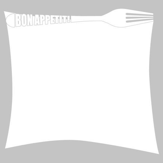 Stickers velleda bon appétit