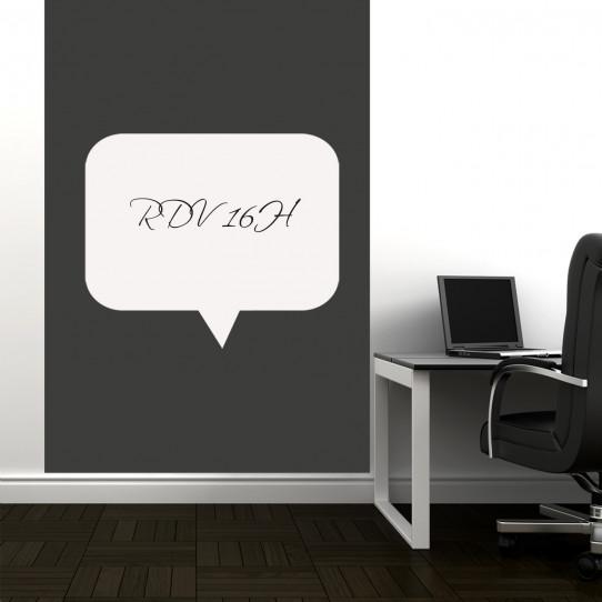 stickers velleda bulle des prix 50 moins cher qu 39 en magasin. Black Bedroom Furniture Sets. Home Design Ideas