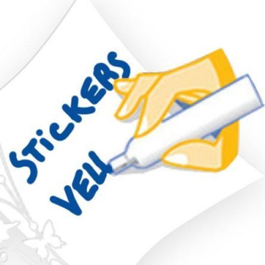 Stickers velleda chat