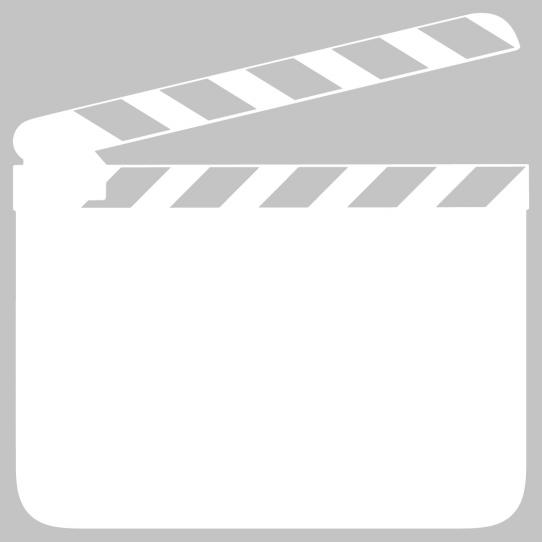 Stickers velleda clap cinéma