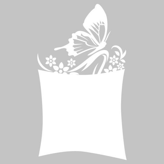 Stickers velleda papillon