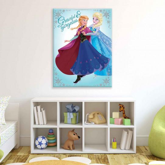 tableau 60x80 cm la reine des neiges des prix 50 moins cher qu 39 en magasin. Black Bedroom Furniture Sets. Home Design Ideas