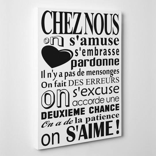 Tableau Toile Citation 5 Des Prix 50 Moins Cher Qu En Magasin