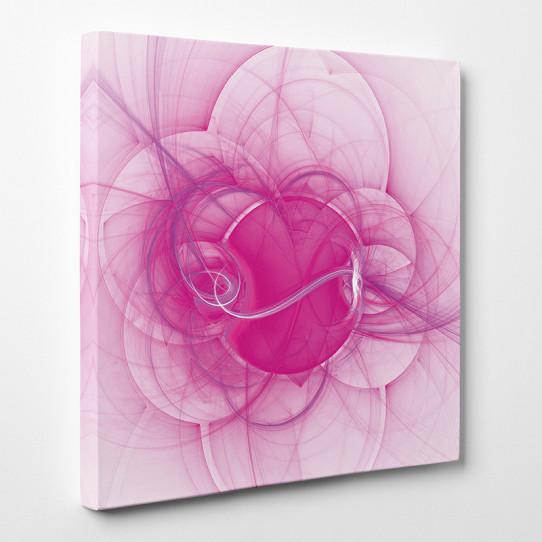 Tableau toile design rose 2 des prix 50 moins cher qu 39 en magasin - Tableau toile design ...
