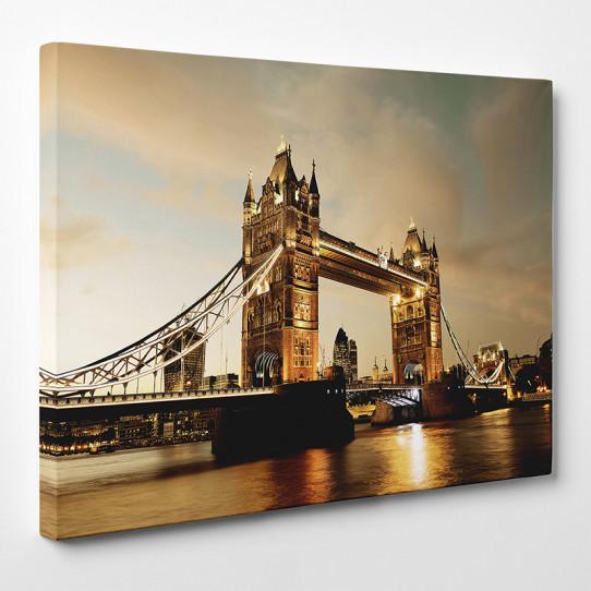 tableau toile london bridge 3 des prix 50 moins cher qu 39 en magasin. Black Bedroom Furniture Sets. Home Design Ideas