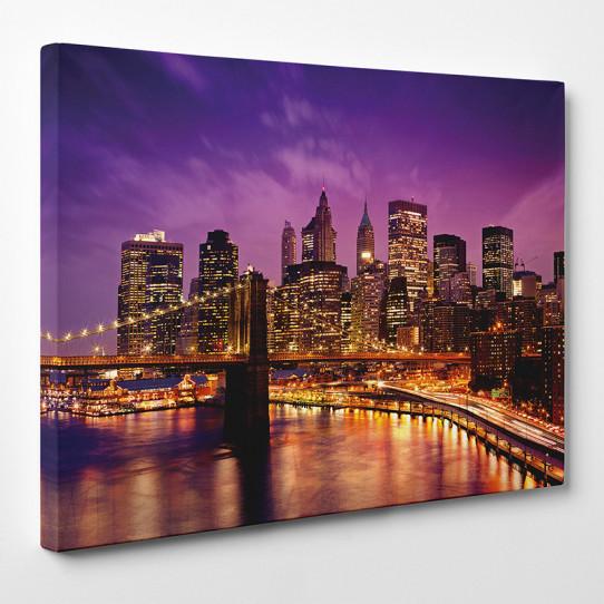 tableau toile new york 15 des prix 50 moins cher qu 39 en magasin. Black Bedroom Furniture Sets. Home Design Ideas