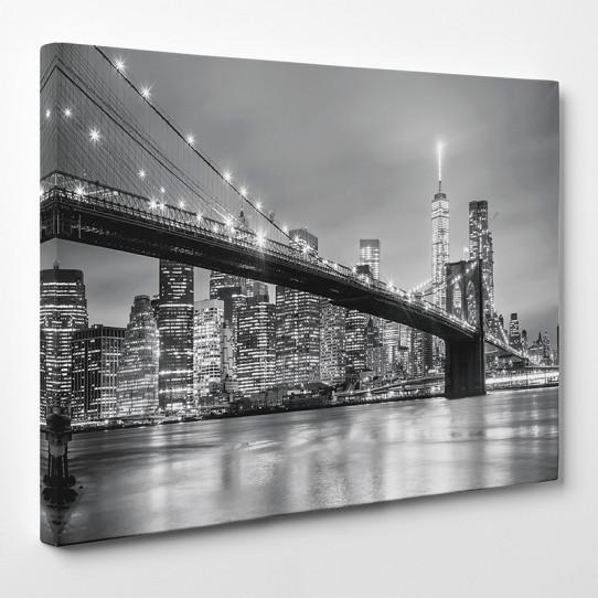tableau toile new york 23 des prix 50 moins cher qu 39 en magasin. Black Bedroom Furniture Sets. Home Design Ideas