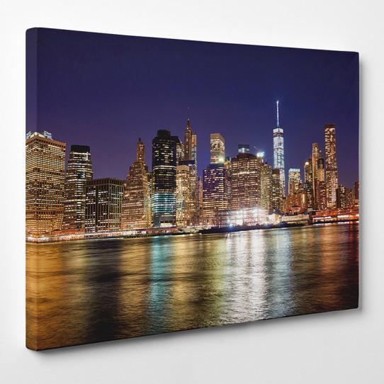 tableau toile new york 31 des prix 50 moins cher qu 39 en magasin. Black Bedroom Furniture Sets. Home Design Ideas