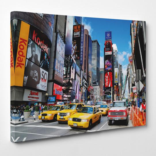 tableau toile new york 39 des prix 50 moins cher qu 39 en magasin. Black Bedroom Furniture Sets. Home Design Ideas