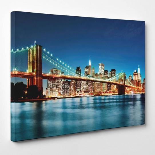 Tableau toile new york 4 des prix 50 moins cher qu 39 en - Tableau toile new york ...