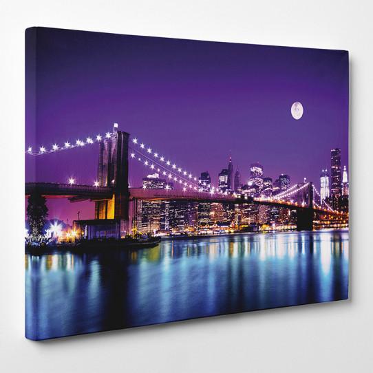 tableau toile new york 7 des prix 50 moins cher qu 39 en magasin. Black Bedroom Furniture Sets. Home Design Ideas