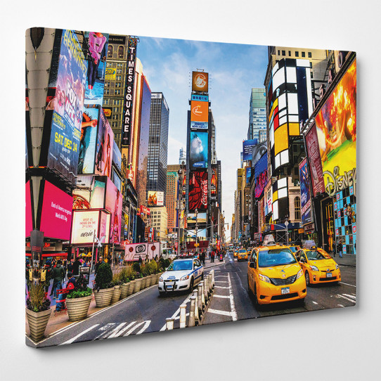 Tableau toile - New York Time Square 2