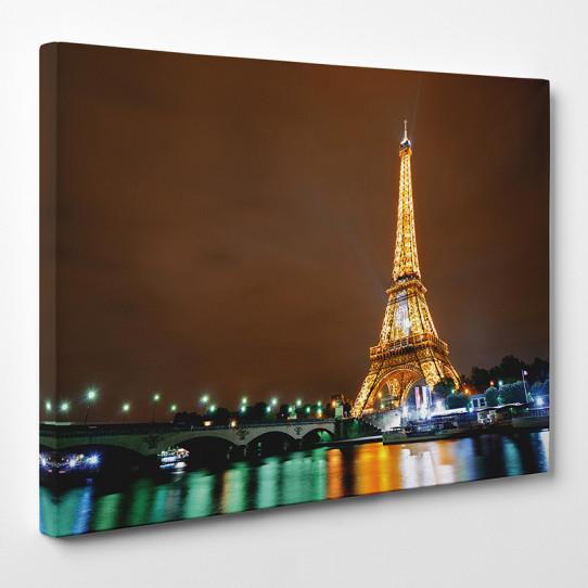 tableau toile tour eiffel 7 des prix 50 moins cher qu 39 en magasin. Black Bedroom Furniture Sets. Home Design Ideas