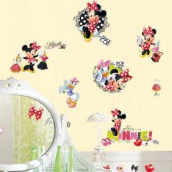 21 Stickers Fashion Addict Minnie Mouse Disney