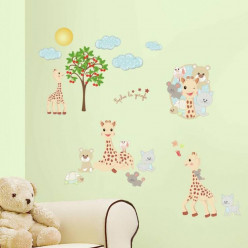 30 Stickers Sophie la girafe