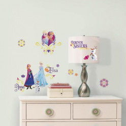 36 Stickers La Reine Des Neiges Spring Brillant