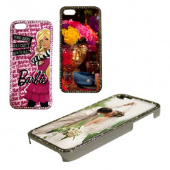 Coque 2D IPHONE 5/5S strass