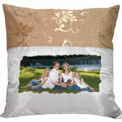 Coussin Bicolores