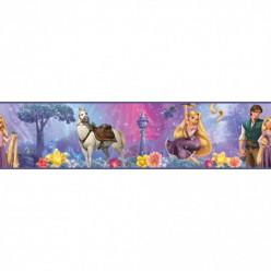 Frise Adhésive Disney Raiponce 4,5 mètres
