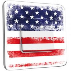 Interrupteur Décoré Poussoir - Etats Unis