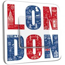 Interrupteur Décoré Poussoir - London