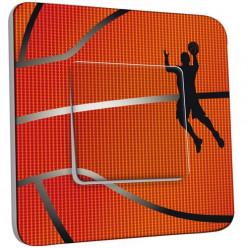 Interrupteur Décoré Simple Va et Vient - Basket-Ball Zoom