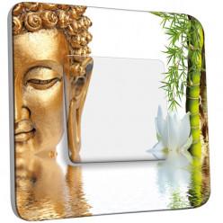 Interrupteur Décoré Simple Va et Vient - Bouddha 1